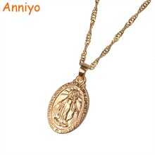 Anniyo O Mary Conceived Without Sin Pray For us Who Have Recourse to Thee Pendant and Necklaces Prayer Jewelry Gifts #049104(China)