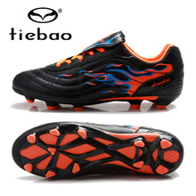 TIEBAO Professional Soccer Shoes Adults Outdoor Sports FG & HG Soles Sneakers Men Teenagers Athletic Training Football Boots(China)