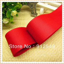 "1""(25mm) Solid Color Grosgrain Ribbon Packing 10yard/lot free shipping bow celebration decoration DIY Materials Tape,DXCS37(China)"