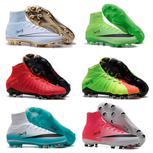 Sufei Newest Soccer Shoes High Ankle Men FG Football Boots Superfly Original 9 Style Professional Soccer Cleats Wholesale