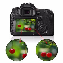 Camera Optical Tempered Glass LCD Screen Panel Film Protector 0.4mm HD Protective Guard Waterproof Cover For Canon 550D 60D 600D