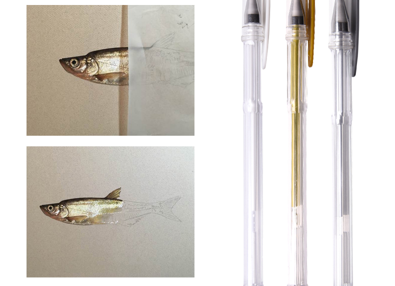 0.7mm White Gold Silver Brighten Gel Pen Line Draw Pen Liner for Art Marker Design Comic Manga Painting Supplies Highlight Pen 5