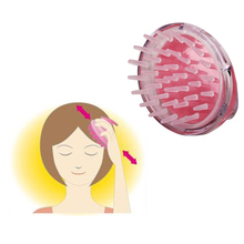 Silicone Head Body Massager Shampoo Scalp Massage Brush Hair Washing Comb Body Shower Brush Bath Spa Slimming Massage Brush