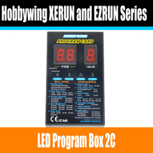 Hobbywing RC Car Program Card LED Program Box 2C 86020010 Programm Card For XERUN and EZRUN Series Car Brushless ESC