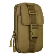 Unisex EDC Molle Tactical Bag Vice Package Wear Waist Belt Purse Outdoor Sport Military Tool Bag Messenger Deporte Mochila