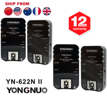 Yongnuo 4PCS YN-622N II Transceivers YN622n II Wireless TTL Flash Trigger For Nikon D70 D70S D60 D80 D90 D4 D3X D3S D3 D2X D40X(Hong Kong)
