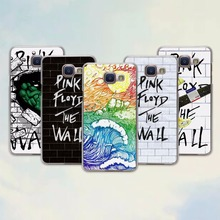 rock music Pink Floyd groups the wall design hard transparent Case for Samsung Galaxy A7 2016 A8 A9 A7 A3 A5 2017(China)