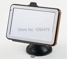 Hot-sell 4.3 inch Car GPS Navigation CPU800Mhz 128MB/4GB + FM + Free latest Maps