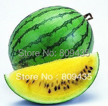 Hot sell 5g green outside and yellow inside small watermelon Seeds original packing very sweet the fruit can be 2kg
