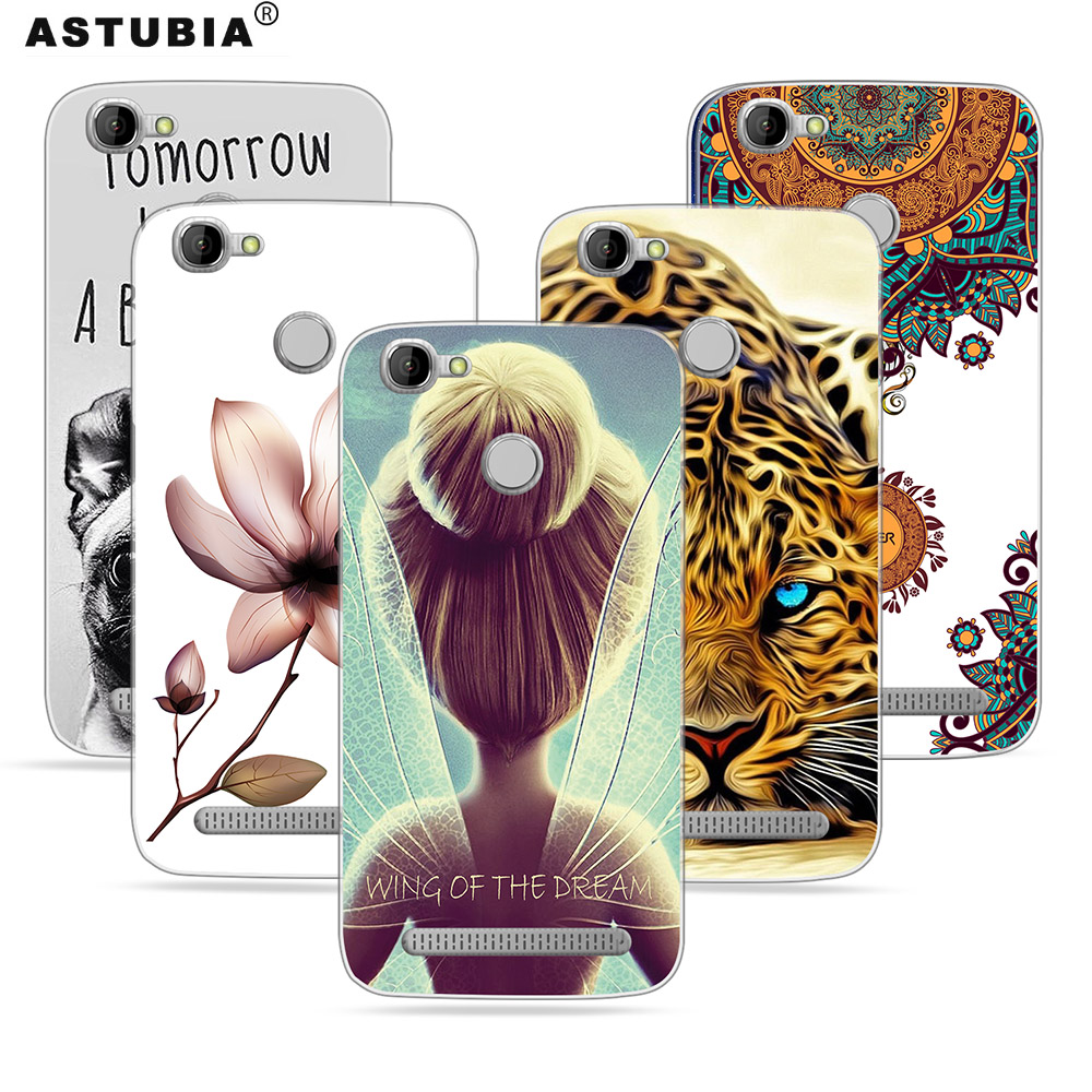 ASTUBIA Homtom HT50 Case Cover DIY Name Case Animal Pattern Soft Cover Homtom HT50 5.5 Phone Case Homtom HT50 Cover