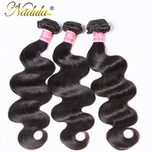 Nadula Hair Products Peruvian Body Wave Hair Weaves 1bundle Can Be Mixed 8-30inch Non Remy Hair Human Hair Weaving Free Shipping(China)
