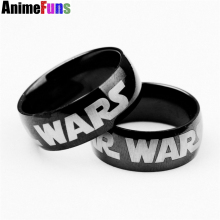Famous Film Rock'n Roll Punk Fashion Gift Unique Mens Boys Star Wars Rings Stainless Steel Ring