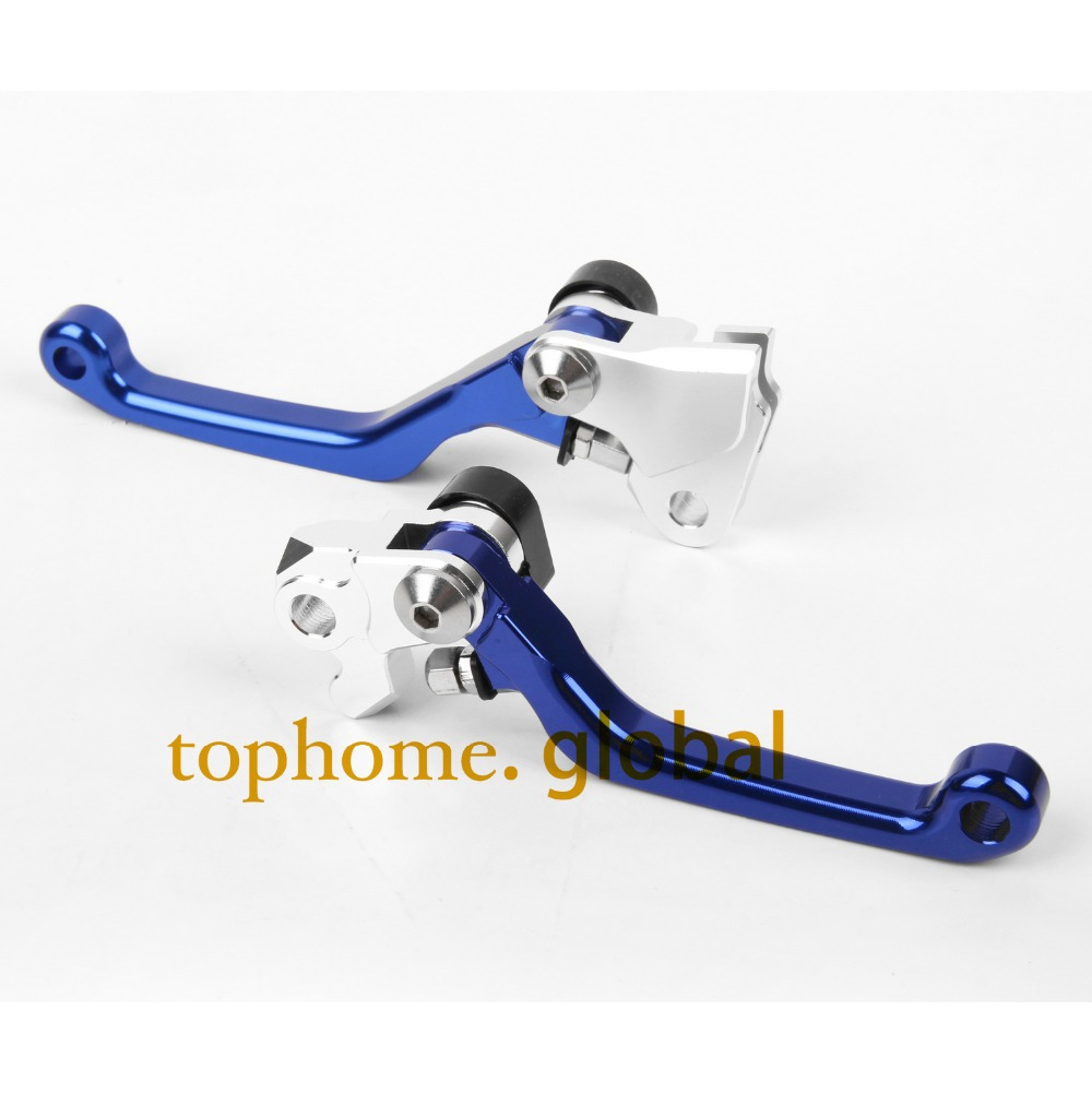 Motobike One Pair Top quality CNC Pivot Brake Clutch levers Set For YAMAHA YZ426F YZ450F 2001-2007 Blue 2006 2005 2004 2003 2002<br><br>Aliexpress