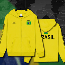 Brazil Brasil BRA Brazilian BR mens Hoodies Sweatshirts hoodie jackets men streetwear hooded tracksuit sportswear clothing 2017(China)