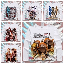 Fashion New Attack on Titan T-shirt  Fancy Boy t shirt 3D Attack on Titan Anime Summer Men's Tops Cosplay Clothing YD-070