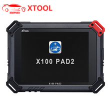 Original XTOOL X100 Pad 2 PAD2 Auto Key Programmer with EPB EPS OBD2 Odometer Oil Reset TPMS X-100 PAd 2 Better than X300 pro3