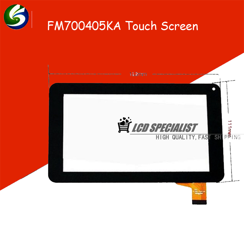 Black 7 inch 186*111mm Black FM700405KA FM700405KD Universal Touch Screen Glass Panel<br><br>Aliexpress