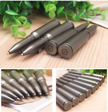 5pcs/lot 1.0mm Ballpoint Pen students Stationary Pens Office School Supplies plastic Cartoon bullet Rotary type Ball Pens 03638