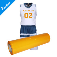 Q6 Kenteer Wholesale High Quality PVC Heat Transfer Vinyl For T-Shirt 0.5*25m/Roll(China)
