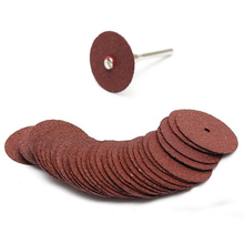 36pcs cutting disc circular saw blade grinding wheel for dremel rotary tool abrasive sanding disc tools cutting wood metal(China)