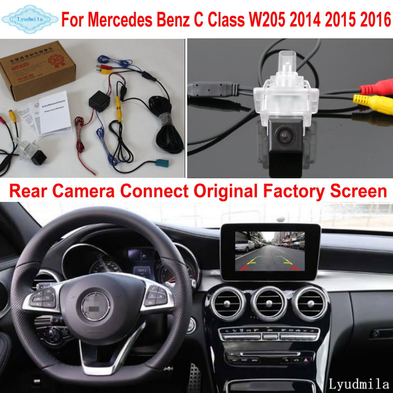 CCD Car Trunk Handle Rearview Camera Replacement for Mercedes-Benz CLA 2014-2018