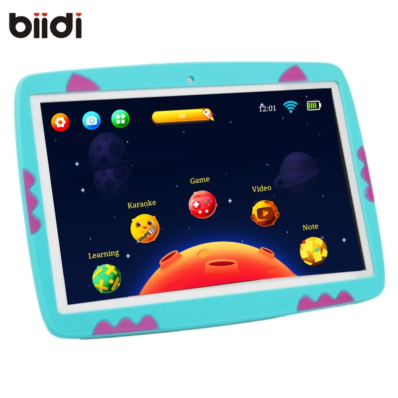 "Android 10 inch Kids tablet pc 10"" wifi children tablets lte 1gb ram 16G rom 1280*800 Quad core 2017 biidi 7155 Free"
