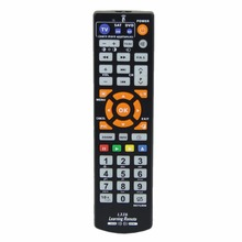 JRGK Universal Smart IR Remote Control with learn function 3 pages controller copy for TV STB DVD SAT DVB HIFI TV BOX L336(China)