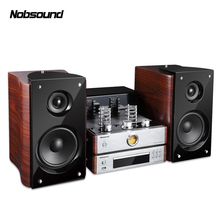 Bluetooth Combined Speaker Output Power 60W 5670 Electron tube amplifier Bookshelf HIFI stereo system Column CD DVD Player