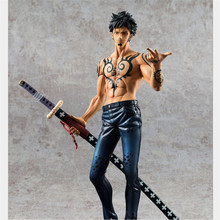 24cm PVC One Piece Trafalgar Law Action Figure Model, 9.5inch One Piece Figure Toy, Anime Brinquedos, Kids Toys