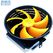 CPU Cooler fan Quiet 12cm fan cooling for Intel LGA1151 775 115x for AMD AM2+ AM3+ FM1 FM2 Radiator PcCooler Q120