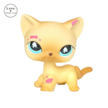 lps toys kitty #816 figure Short Hair kitten