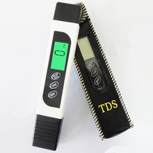 Portable 3 In1 LCD Digital TDS EC TEMP Meter Aquarium Hydroponics Pool Drink Water Quality Analyse with backlight 40%off