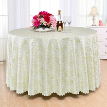 Top Luxurious Round Table Cover Rectangle Tablecloths Hotel Wedding Tablecloth Machine Washable Fabric Grey World Table Cloth