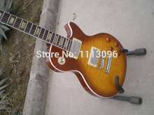 Electric guitar free shipping guitar+lp slash guitar+maple flame top+electric guitar/guitarra/guitar in china