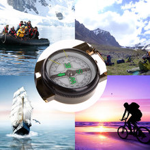 Professional Mini Boat Compass bussola Portable Army Green Folding Lens Military Compass for Outdoor Hiking Camping Tools