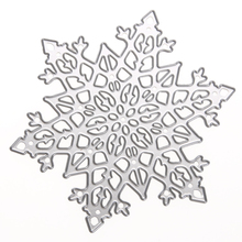 1pc Metal Pentagram Snowflake Cutting Dies Stencils For DIY Scrapbooking Photo Album Embossing Decorative Craft Best Price