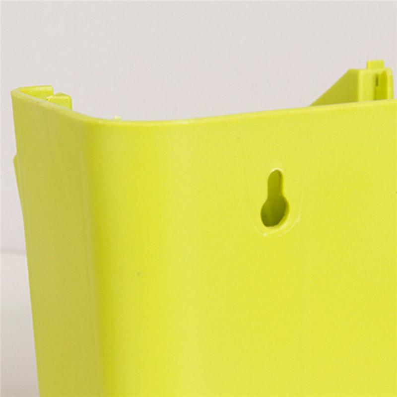 Stackable 2-Pockets Vertical Wall Planter Self Watering Hanging Garden Flower Pot Planter for Indoor/Outdoor 8