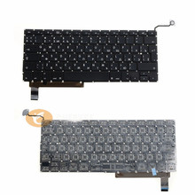 Laptop Replacement Russian Keyboard A1286 RU Keyboard For Apple Macbook Pro 15'' 2009 to 2013