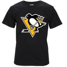 2017 Pittsburgh Penguins Mens O Neck T-Shirt Man 100% Cotton Cool Tees T Shirt Tops(China)