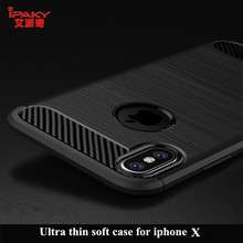 For Apple Iphone X Case ipaky luxury Silicon TPU PC Back Cover For Iphone X 10 Case Full Protection Case For Apple IphoneX phone(China)