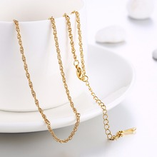 Women's think chain 26inch 65cm long style Chains necklace golden rose gold fashion jewelry section gift pouches free