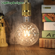 G125 edison bulb led lamp pineapple lamp verlichting led strip lampen led light 220V 4W E27 base pendant lights chandelier light