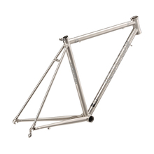 New Ultralight 1550g Steel Road Bike Frame 4130 Steel Frame Road Bicycle Frame Titanium Drawing Steel Frame Road Cycling Parts