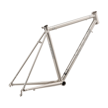 New Ultralight 1550g Steel Road Bike Frame 4130 Steel Frame Road Bicycle Frame Titanium Drawing Steel Frame Road Cycling Parts(China)