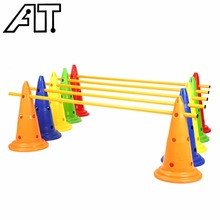 1 Piece Football Training Cone Tool Traffic Cones Barrel Marker Outdoor Sports for Boys Man - Color Random