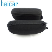 Haicar 1 PC Compression Eye Glasses Hard Case Sunglasses Protector Storage Box Black  organizer boite de rangement Quality First