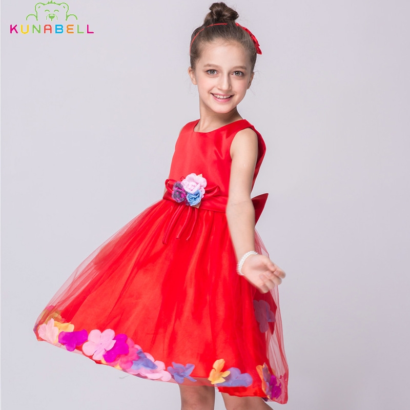 Girls Flower Dresses Children Spring Summer Fashion Tutu Dress Baby Girls Floral Mesh Bow Dresses Kids Casual Clothes S20<br><br>Aliexpress
