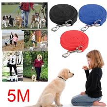 Pet Dog Training Harness Leash Collar Supplies 5M Strap Belt Cat Puppy Mascotas Cachorro Chien Perros(China)