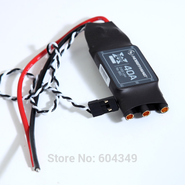 Hobbywing XRotor 2-6S 40A Brushless ESC for RC Multicopters 550-650 Class Quadcopter HEXACOPTER<br><br>Aliexpress