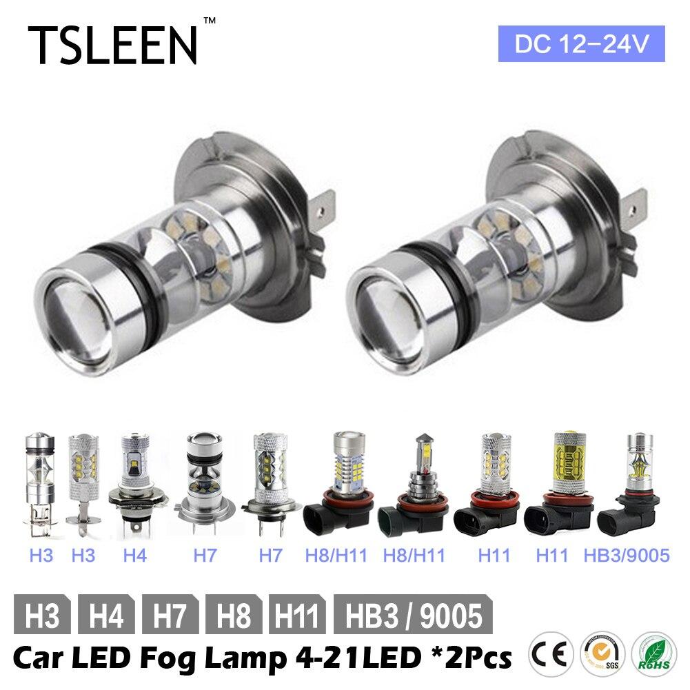 2x CREE LED Bulbs Car Kit H3 H4 H7 H11 HB3 White Headlight Replace Xenon Lamp<br><br>Aliexpress